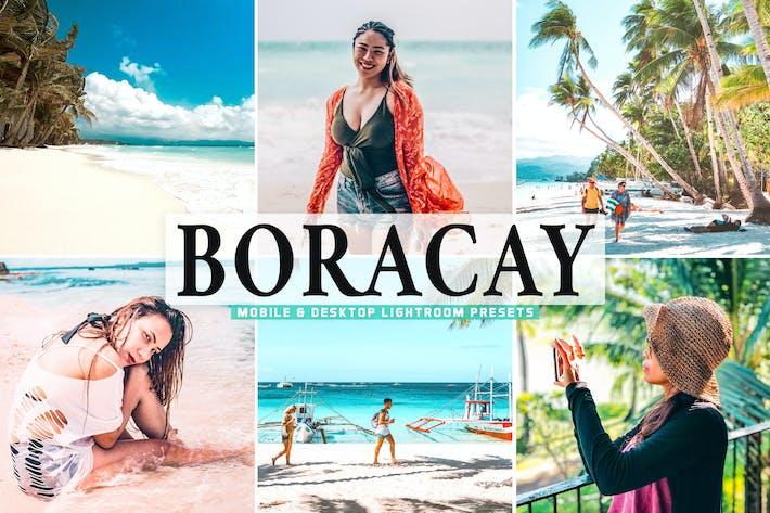 Пресеты мобильного и настольного освещения Boracay