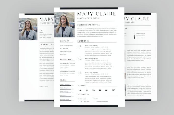 Junior Copy Editor Resume Designer