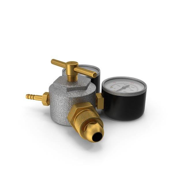 Argon CO2 Double Pressure Regulator