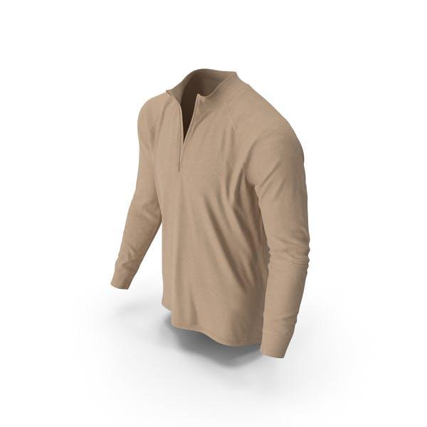 Mens Pullover Beige