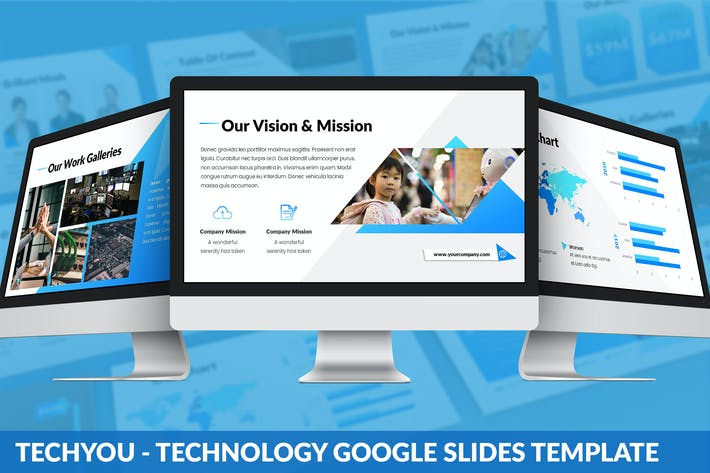 Thumbnail for TechYou - Technology Google Slides Template
