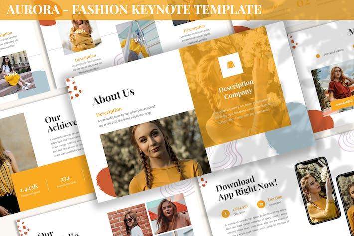 Aurora - Fashion Keynote Template