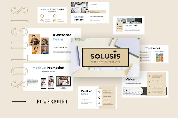 Thumbnail for Solusis - Business Powerpoint Presentation