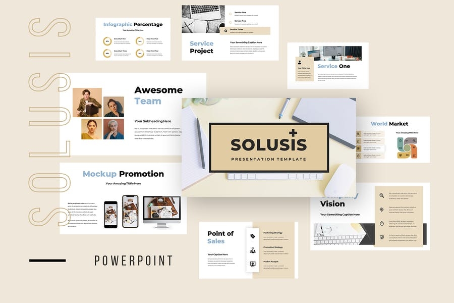 Solusis - Business Powerpoint Presentation