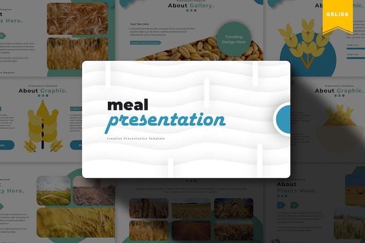 Thumbnail for Meal | Google Slides Template