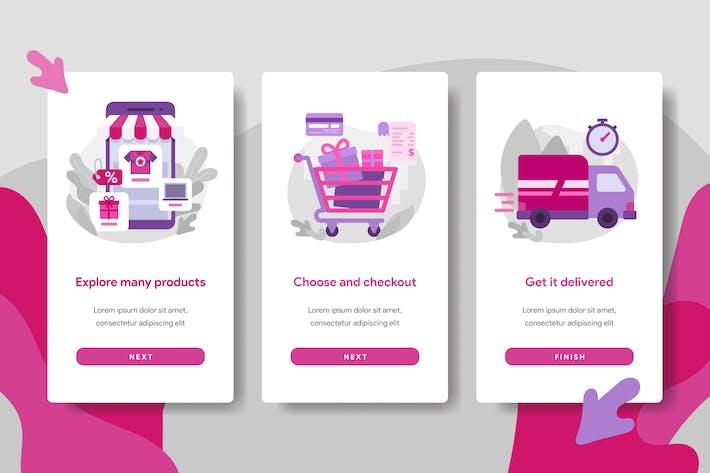 Thumbnail for Online Shopping Illustration