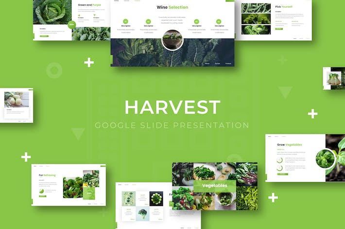 Thumbnail for Harvest - Google Slide Template