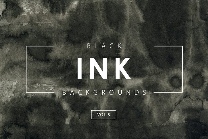 Thumbnail for Black Ink Backgrounds Vol.5