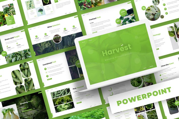 Thumbnail for Harvest - Powerpoint Template