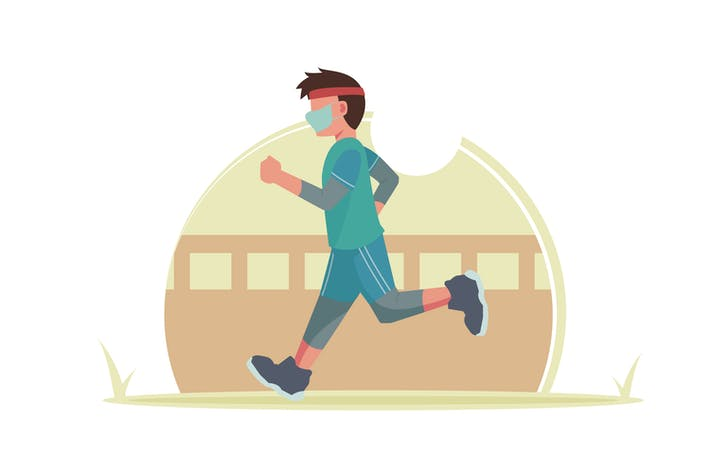 Thumbnail for A Boy Jogging