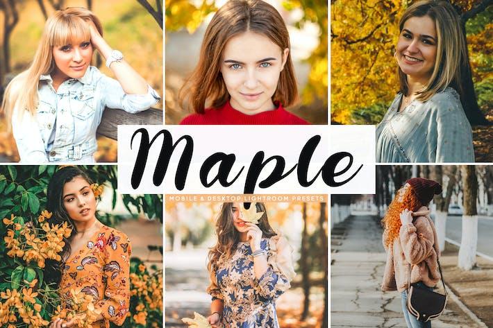 Thumbnail for Maple Mobile & Desktop Lightroom Presets