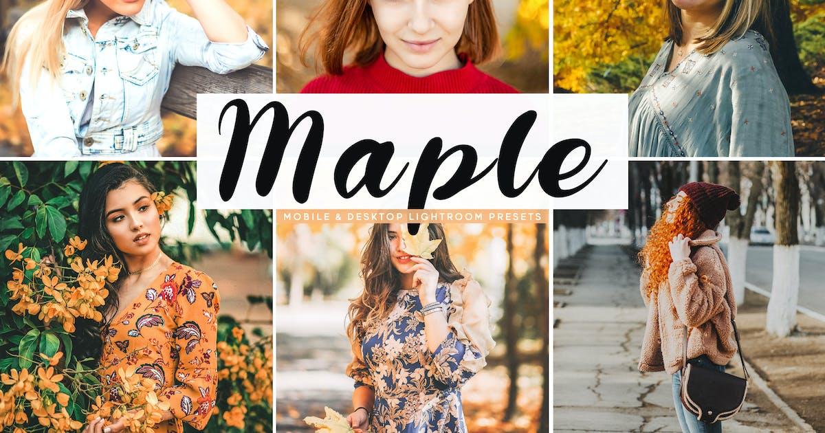 Download Maple Mobile & Desktop Lightroom Presets by creativetacos