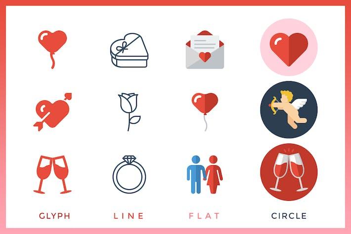 Thumbnail for Día de San Valentín - Evento Icon 't