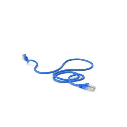 Cable RJ45 Azul