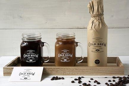 Cold Brew Coffee Mockup