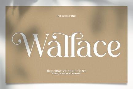 Wallace - Decorative Serif Font