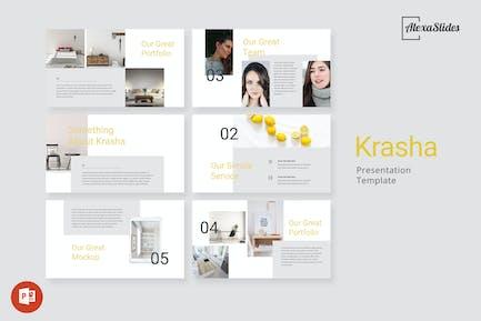 Krasha - Creative Powerpoint Template