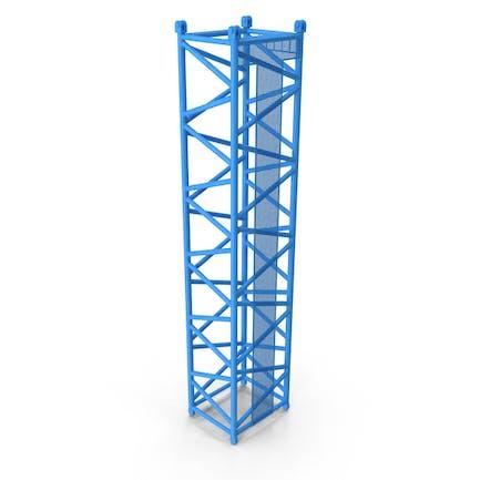 Crane D Intermediate Section 12m Blue