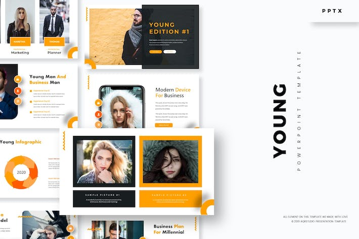 Thumbnail for Young - Powerpoint Template