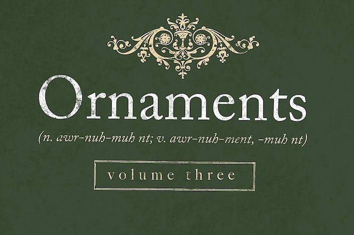 Thumbnail for Decorative ornaments pack 3