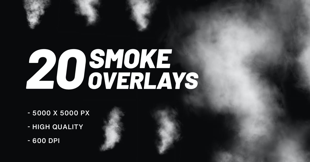 Download 20 Smoke Overlays by MographMotions
