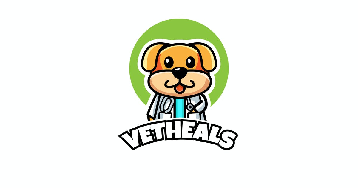 Download vet heals - Mascot & Esport Logo by aqrstudio