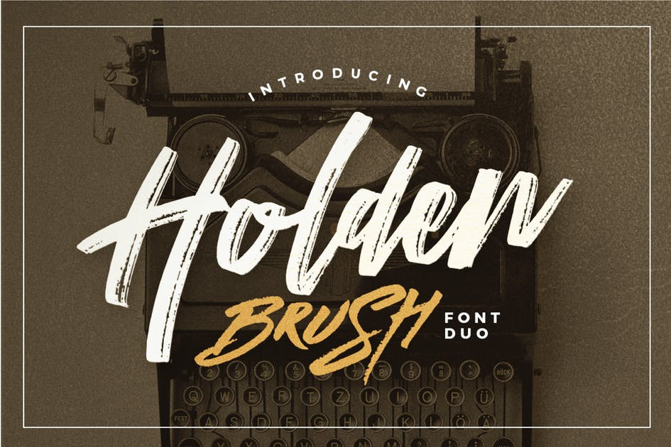 Download Holden Brush by dirtylinestudio