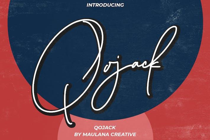 Police Qojack Signature Pinceau