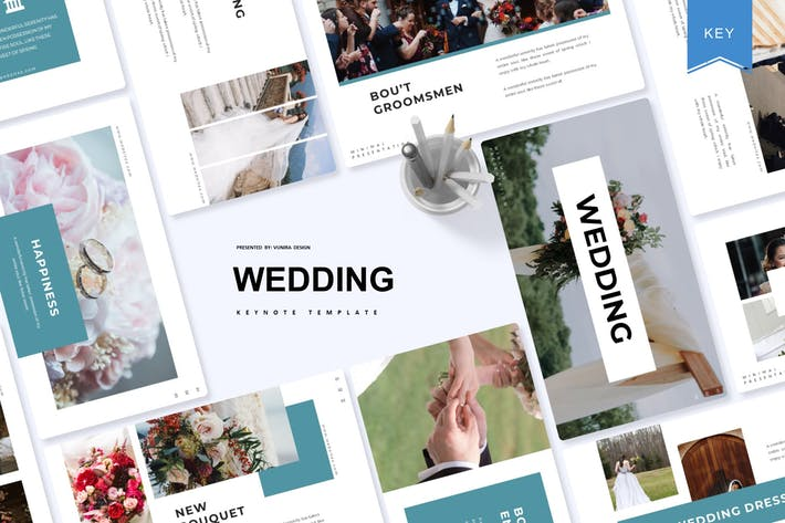 Cover Image For Wedding | Keynote Template