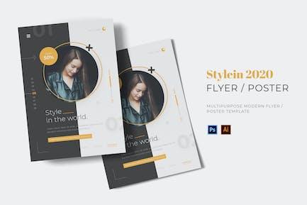 Stylein 2020 Flyer