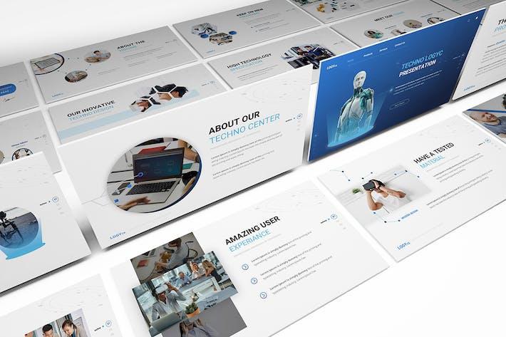 Thumbnail for Шаблон технологии Powerpoint