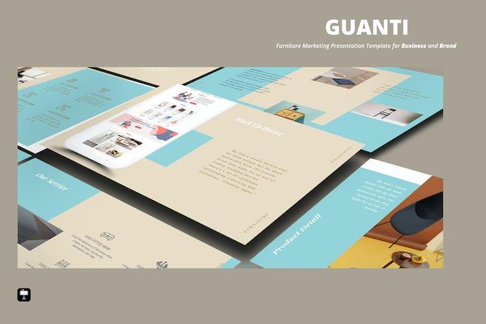 Thumbnail for Furniture Elegant Keynote Template