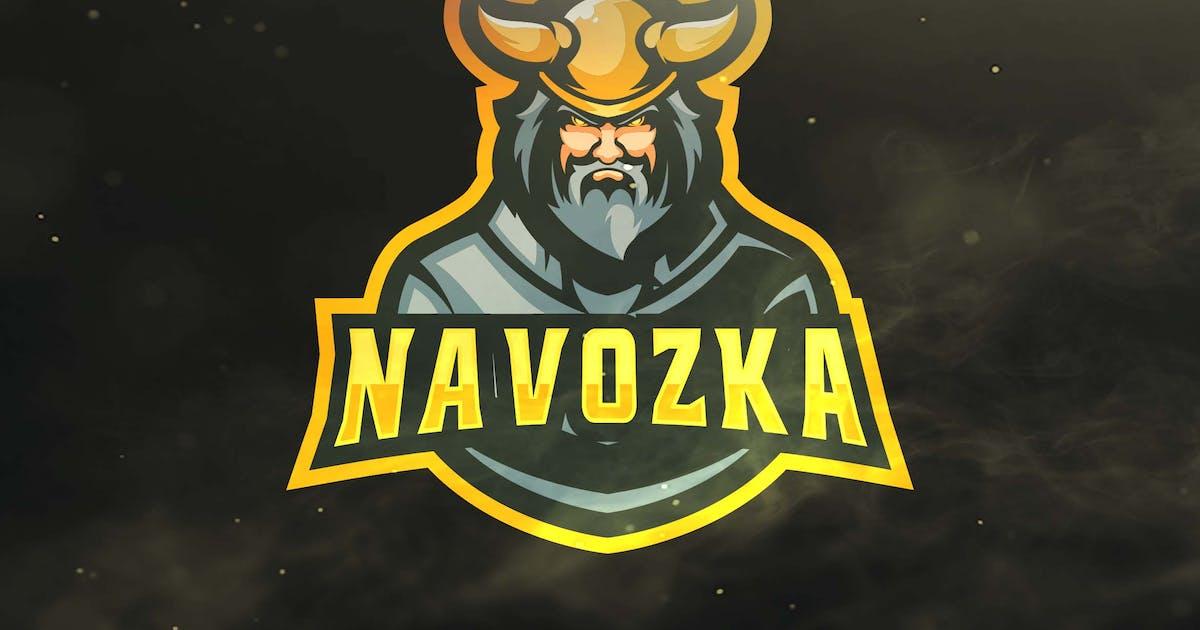 Viking Sport and Esports Logos by ovozdigital