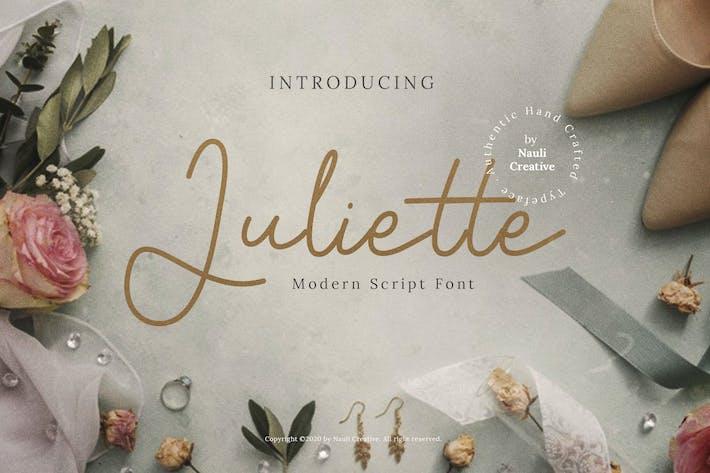 Juliette - Modern Script Font