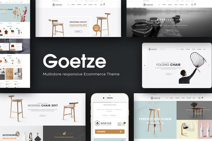 Cover Image For Goetze - Multipurpose Responsive Magento Theme