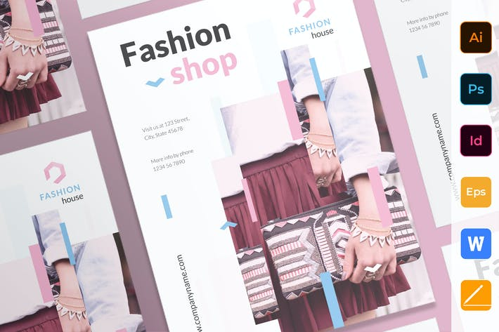 Cover Image For Fashion Shop Poster