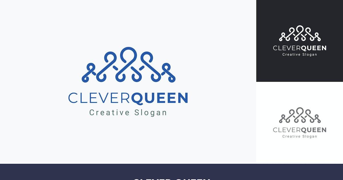 Download Clever Queen Logo Template by ldnstudio