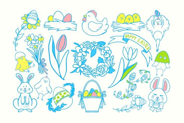 Thumbnail for Easter Joy Doodles