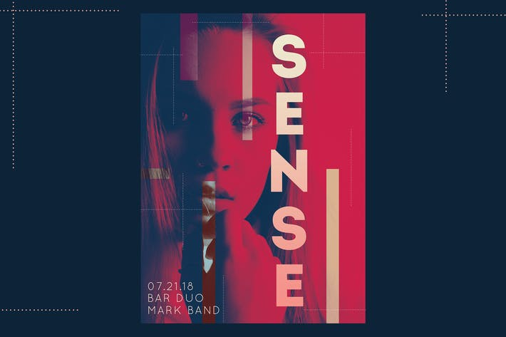 Thumbnail for Affiche Third Sense dépliant
