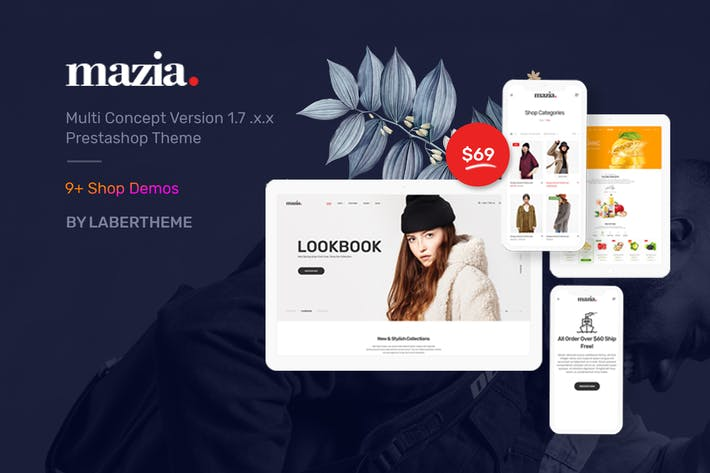 Thumbnail for Thèmes Mazia Responsive Prestashop 1.7 - Laberthem