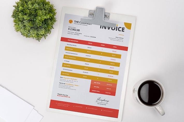 Thumbnail for Company Invoice