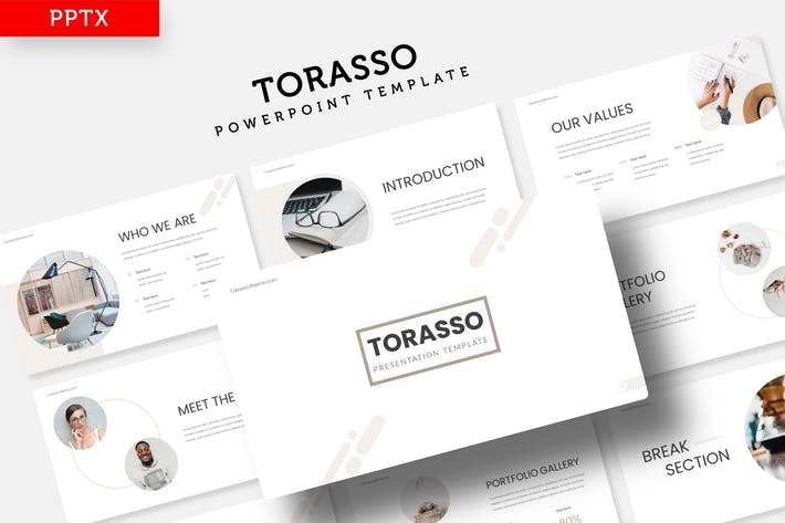 Cover Image For Torasso - Power Point Template