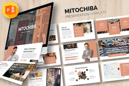 Mitochiba - Business Powerpoint Template
