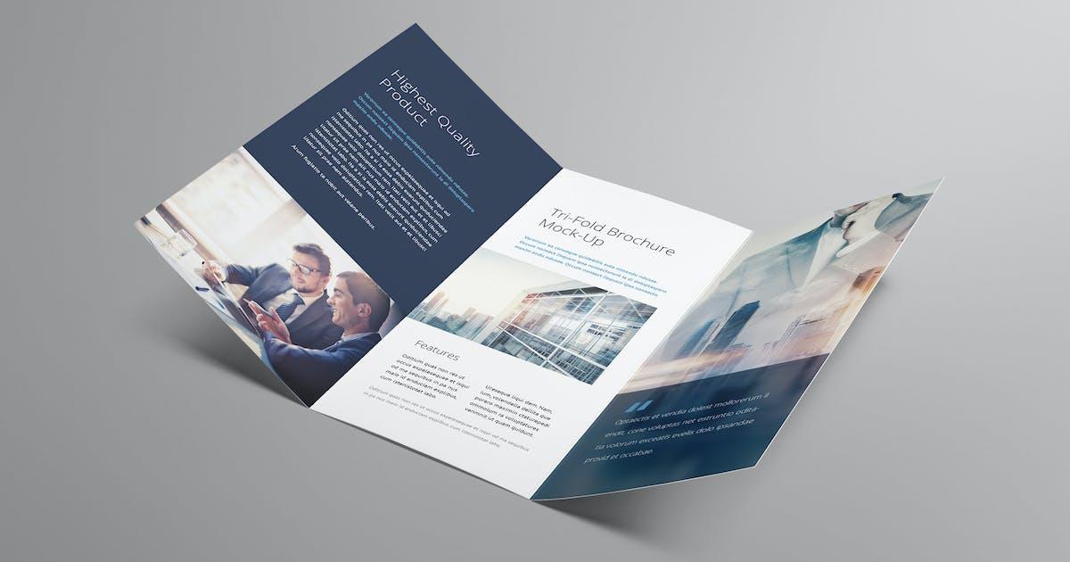Download Tri fold Brochure Mockup by Genetic96