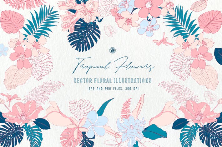 Thumbnail for Tropical Flowers
