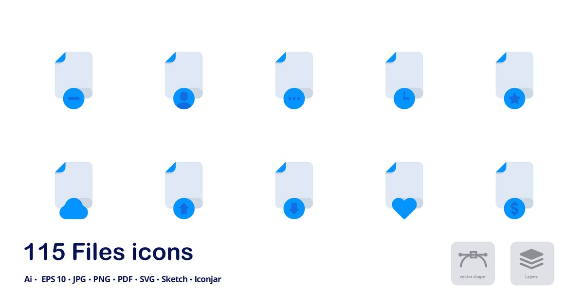 Download Files and Formats Accent Duo Tone Icons by roundicons