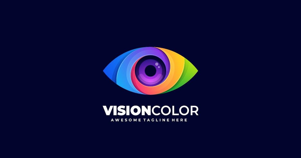 Download Vision Eye Color Gradient Logo template by ivan_artnivora