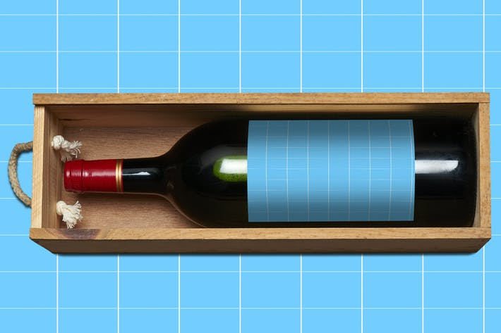 Thumbnail for Wine\_Label-Mockup