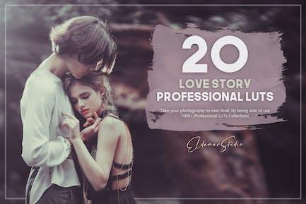 Набор из 20 Лютов «История любви»