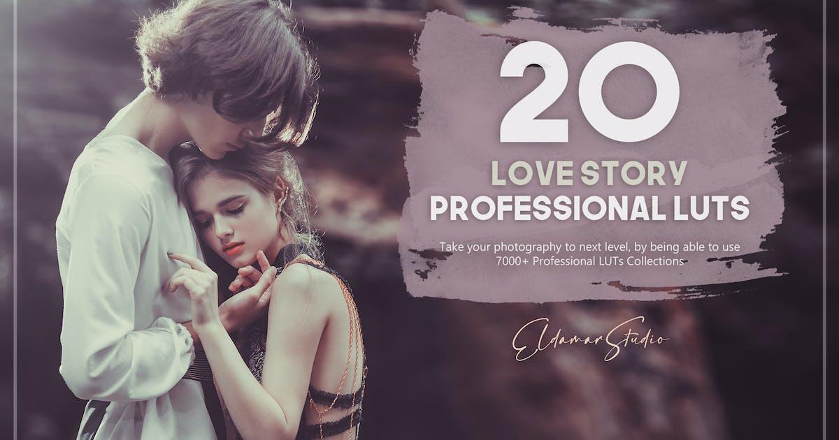 Download 20 Love Story LUTs Pack by Eldamar_Studio